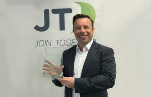 JT wins Best Cloud Service of the Year Award