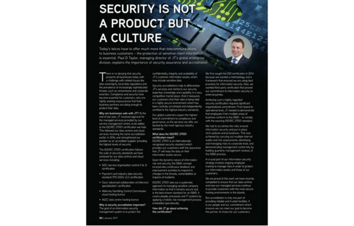 Security Is Not A Product But A Culture