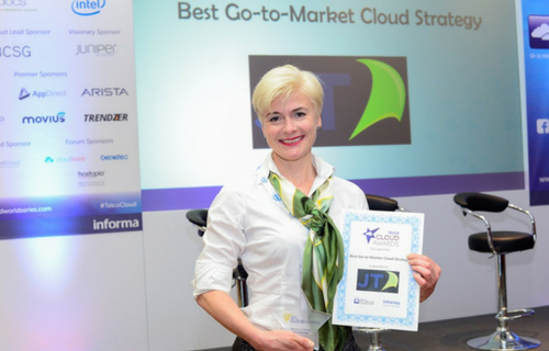 AWARD SUCCESS FOR JT'S CLOUD PLATFORM
