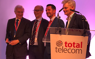 JT wins major national award for ground-breaking full-fibre network