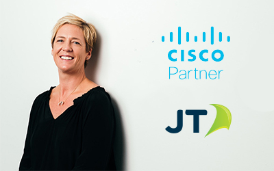 JT's extends its accreditation with global tech giant Cisco
