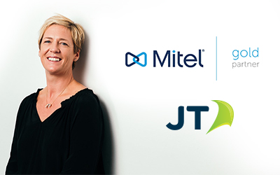 JT strikes gold with Mitel partnership