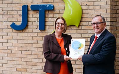 JT accredited as living wage employer
