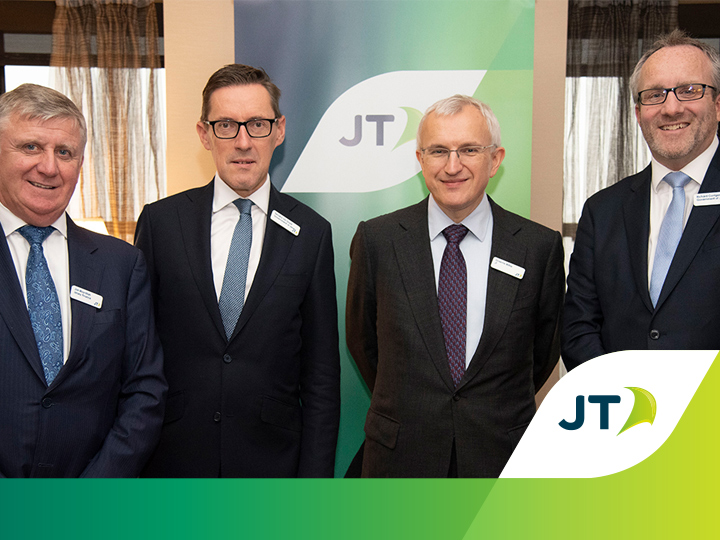 Jersey's Minister for External Relations meets JT customers in New York